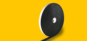 ESCOTAPE® - Self-sealing, neoprene sealing tape for air ducts